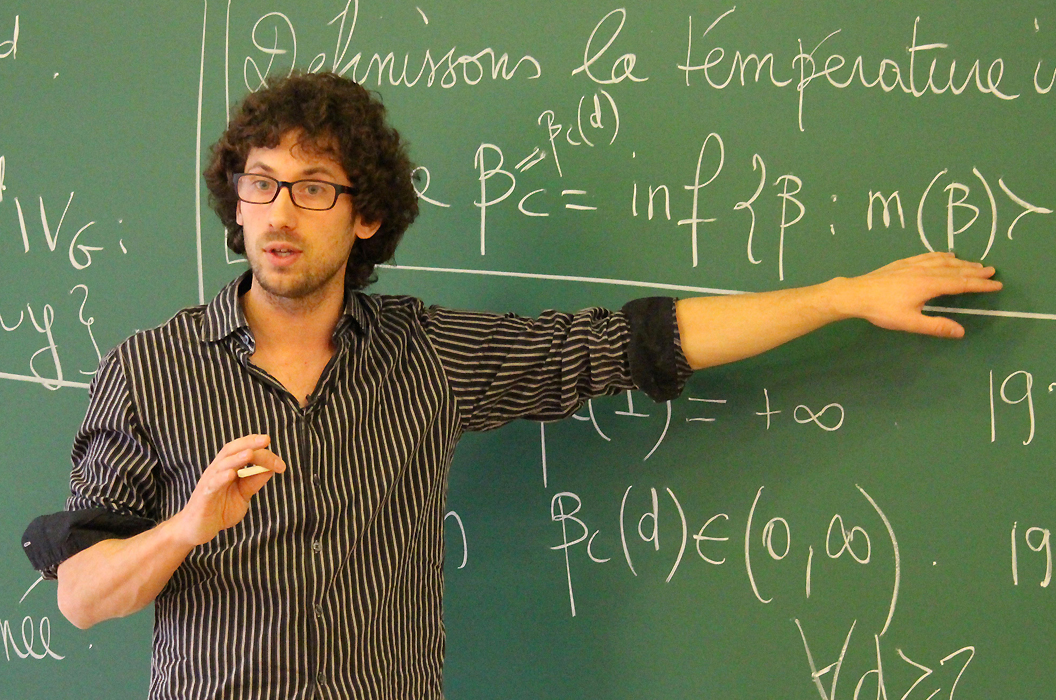 Hugo Duminil Copin - NEW HORIZONS IN MATHEMATICS PRIZE
