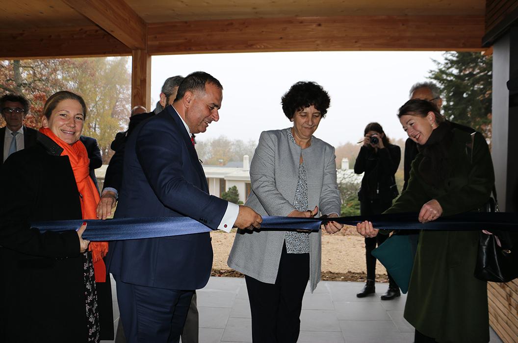 Inauguration bâtiment Alix et Marwan Lahoud