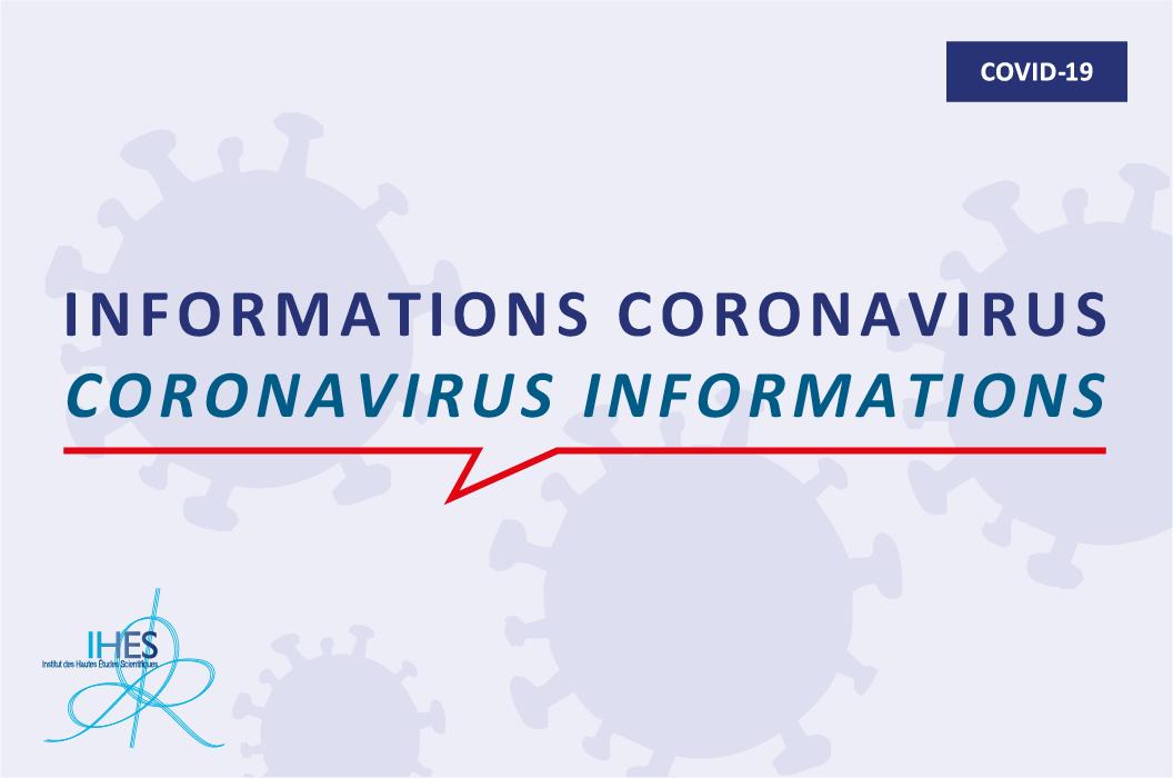 information sur le coronavirus
