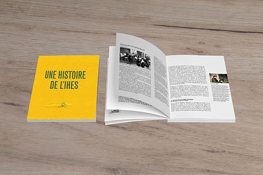 """Visuel du livre """"Une histoire de l'IHES"""""""