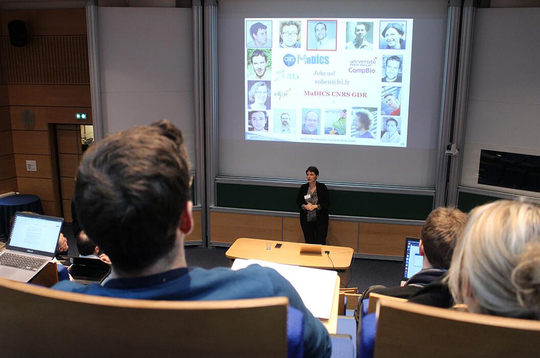 Sarah Cohen-Boulakia à l'IHES