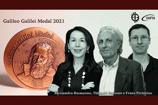 Galileo Galilei Medal 2021 Laureates
