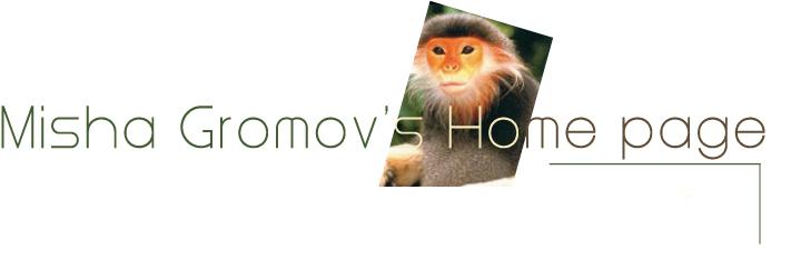 Misha Gromov's Homepage